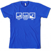 Eat Sleep Ski T Shirt