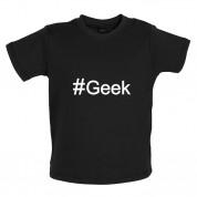 #Geek (Hashtag) Baby T Shirt