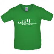 Born to Fish Kids T Shirt