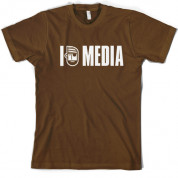 I Pirate media T Shirt