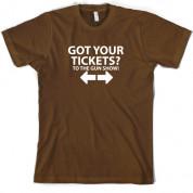 Tickets to the Gun show T Shirt
