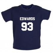 Edwards 93 Baby T Shirt