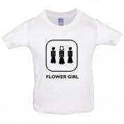Flower Girl Kids T Shirt