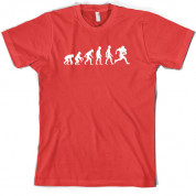 Evolution of Man American Football T Shirt