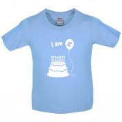 I Am 8 Kids Birthday T Shirt