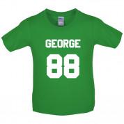 George 88 Kids T Shirt