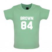 Brown 84 Baby T Shirt