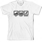 Eat Sleep Ice Hockey T Shirt