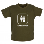 Game Over Wedding Baby T Shirt