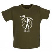 Amateur Beach Volleyball Coach Baby T Shirt