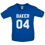 Baker 04 Kids T Shirt