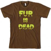 Fur is Dead T Shirt