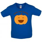 Happy Little Pumpkin  Kids T Shirt