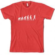 Evolution of Man Guitar T Shirt