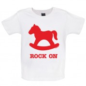 Rock on Baby T Shirt