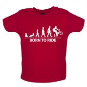 Born to Ride BMX Baby T Shirt