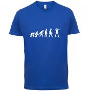 Evolution Of Man Biathlon T Shirt