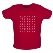 Baby Word Search Baby T Shirt