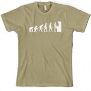 Evolution of Man Arcade Gamer T Shirt