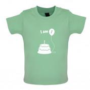 I Am 1 Baby Birthday T Shirt