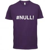 #Null T Shirt