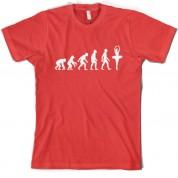 Evolution of Man Ballet Dancer T Shirt