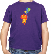 1st Birthday Lion Kids T Shirt