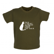 100% Made From Cat Hair Baby T Shirt
