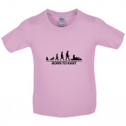 Born To Kart Kids T Shirt