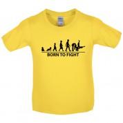 Born to Fight Kids Judo T Shirt