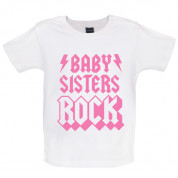 Baby Sisters Rock Baby T Shirt