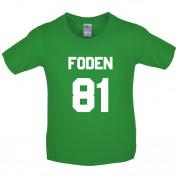 Foden 81 Kids T Shirt