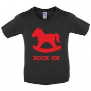 Rock on Kids T Shirt