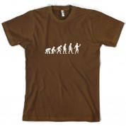 Evolution Of Man Acting T Shirt