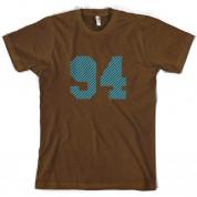 94 Electric Pin Stripe T Shirt