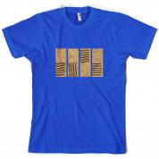 4 Element Stones T Shirt