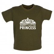 Daddy's Little Princess Baby T Shirt
