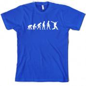 Evolution of Man Cricket T Shirt