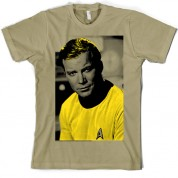 'Halftone' Kirk Star Trek T Shirt