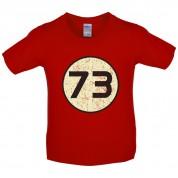 73 Logo Kids T Shirt