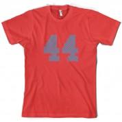 44 Electric Pin Stripe T Shirt
