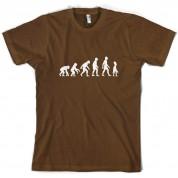 Evolution of Man Alien T Shirt