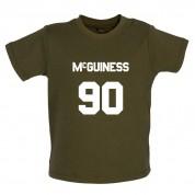 McGuiness 90 Baby T Shirt