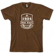 1934 Old Fart Vintage T Shirt