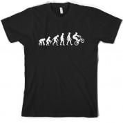 Evolution of Man BMX T shirt