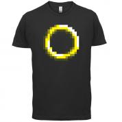Retro Pixel Ring T Shirt