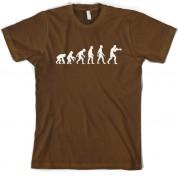 Evolution of Man Boxing T shirt