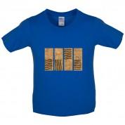 4 Element Stones Kids T Shirt
