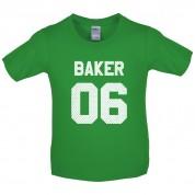Baker 06 Kids T Shirt