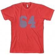 64 Electric Pin Stripe T Shirt